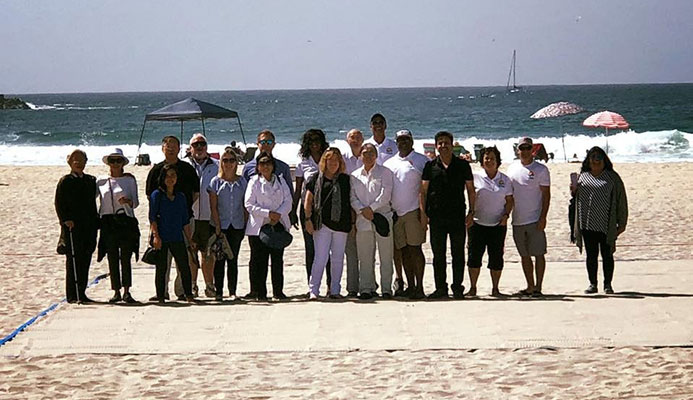 The qualification process for the World Beach Games is expected to be approved next month ©ANOC