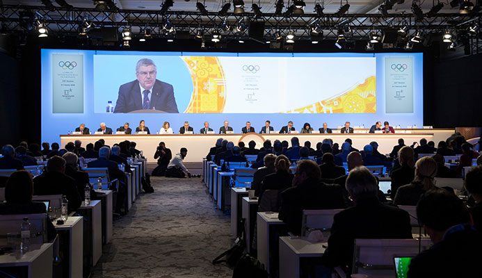 IOC President Thomas Bach was singled out for criticism by Richard Pound over the crisis involving doping in Russia and claimed the world felt let down by the lack of a credible response ©IOC