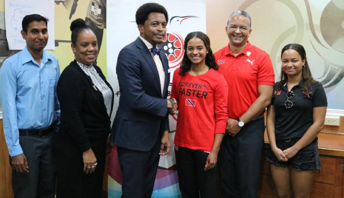 Vieira Makes History - Team TTO to attend 2020 Winter Youth Olympic Games