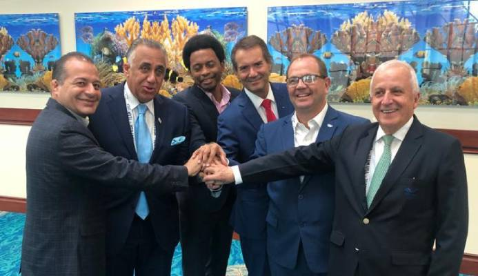 Presidents of the sports organizations of the Americas agree to align the agendas to strengthen sport.