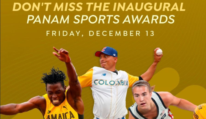 WATCH THE PANAM SPORTS AWARDS LIVE ACROSS THE AMERICAS AND THE WORLD