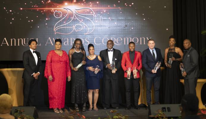 Trinidad and Tobago Olympic Committee's (TTOC) 25th Annual Awards Gala, held at the Hyatt Regency, Port-of-Spain