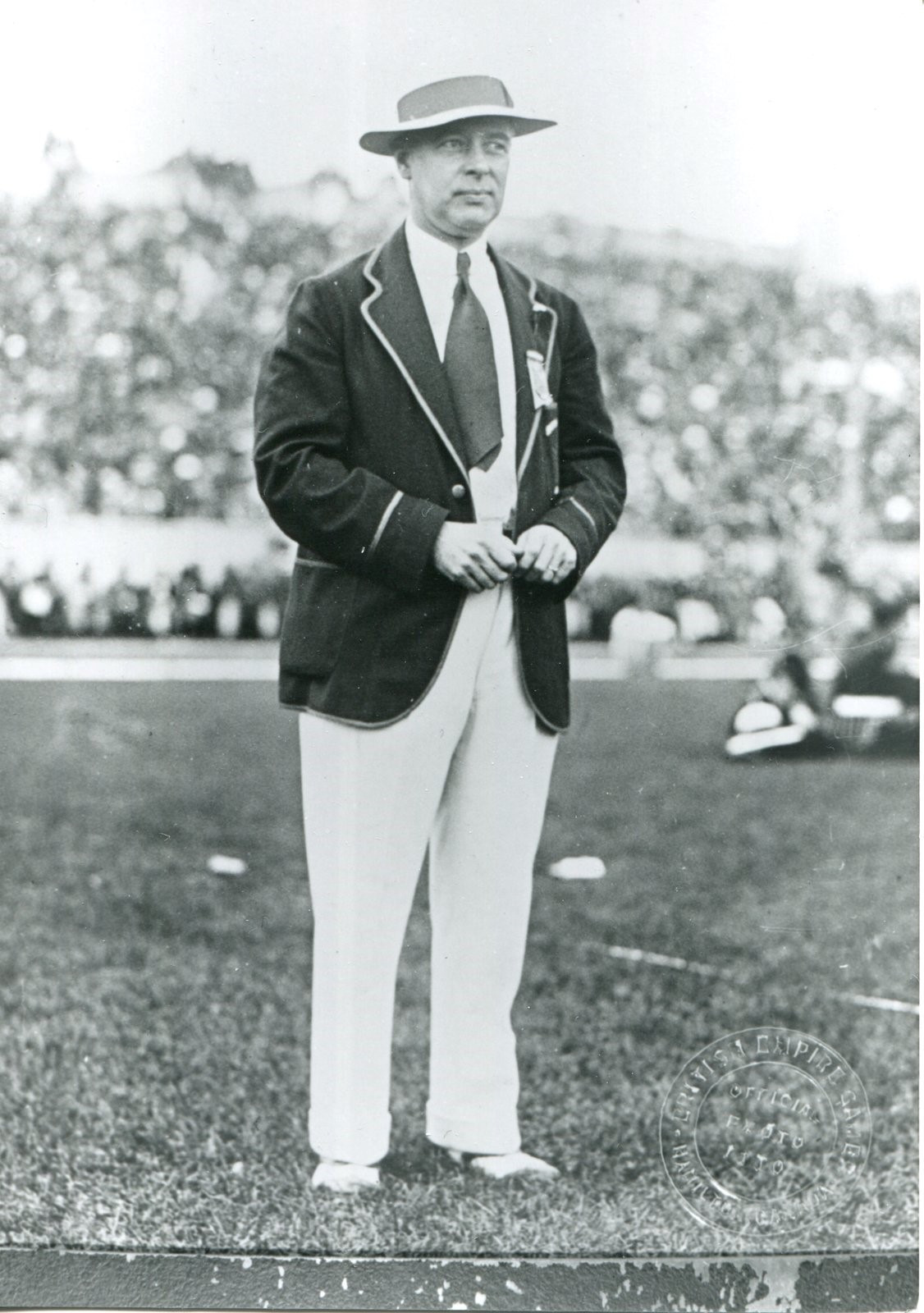 Bobby Robinson was the driving force behind the first Empire Games of 1930 ©Burlington Historical Society