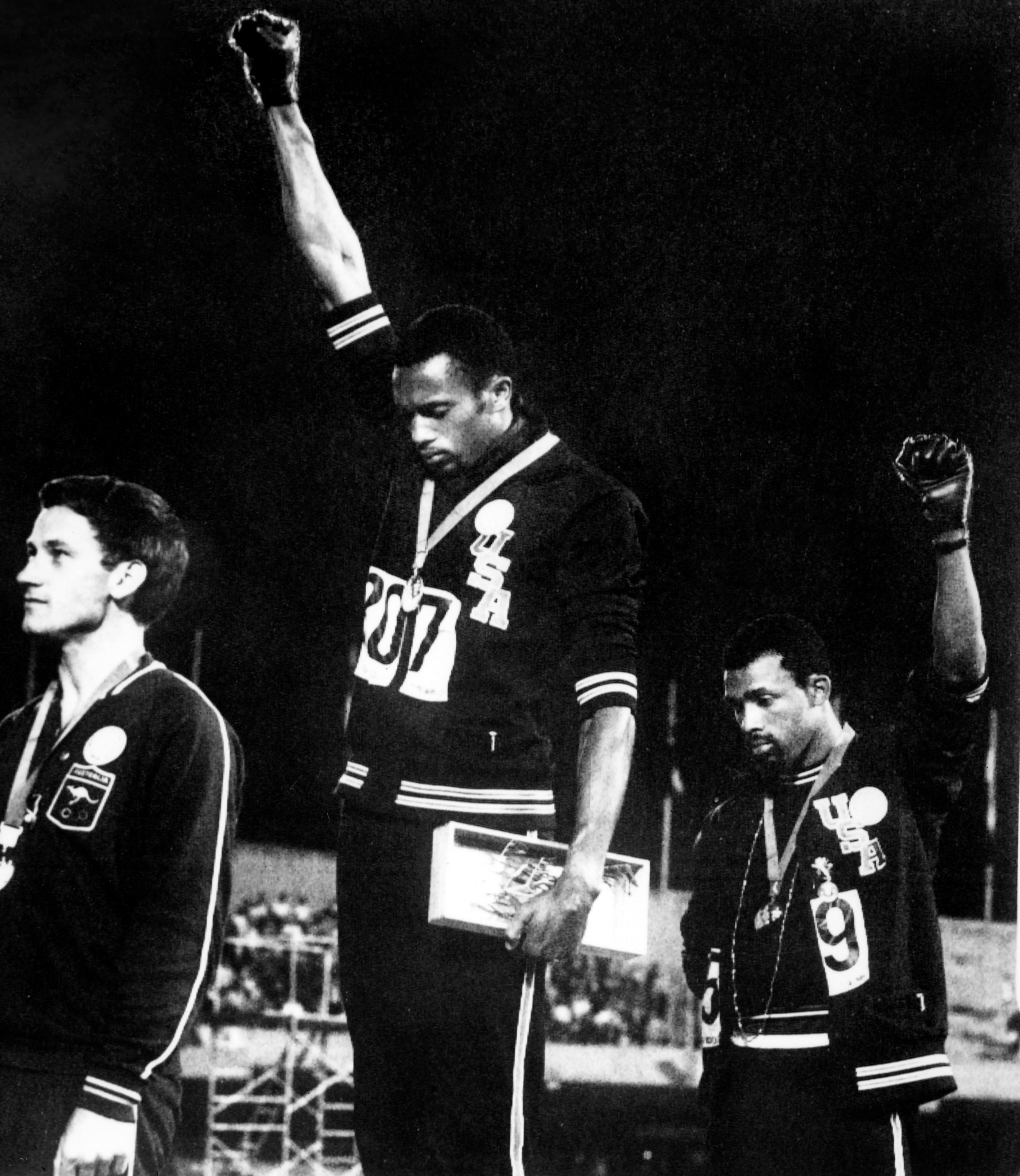 The President's Award at today's World Athletics Awards went to the trio of Tommie Smith, Peter Norman and John Carlos ©Getty Images