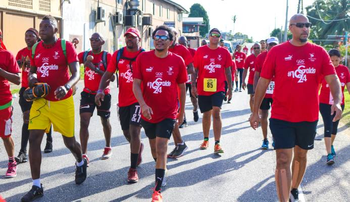 TTOC 2020 Marathon Walk a rousing success in Olympic Year