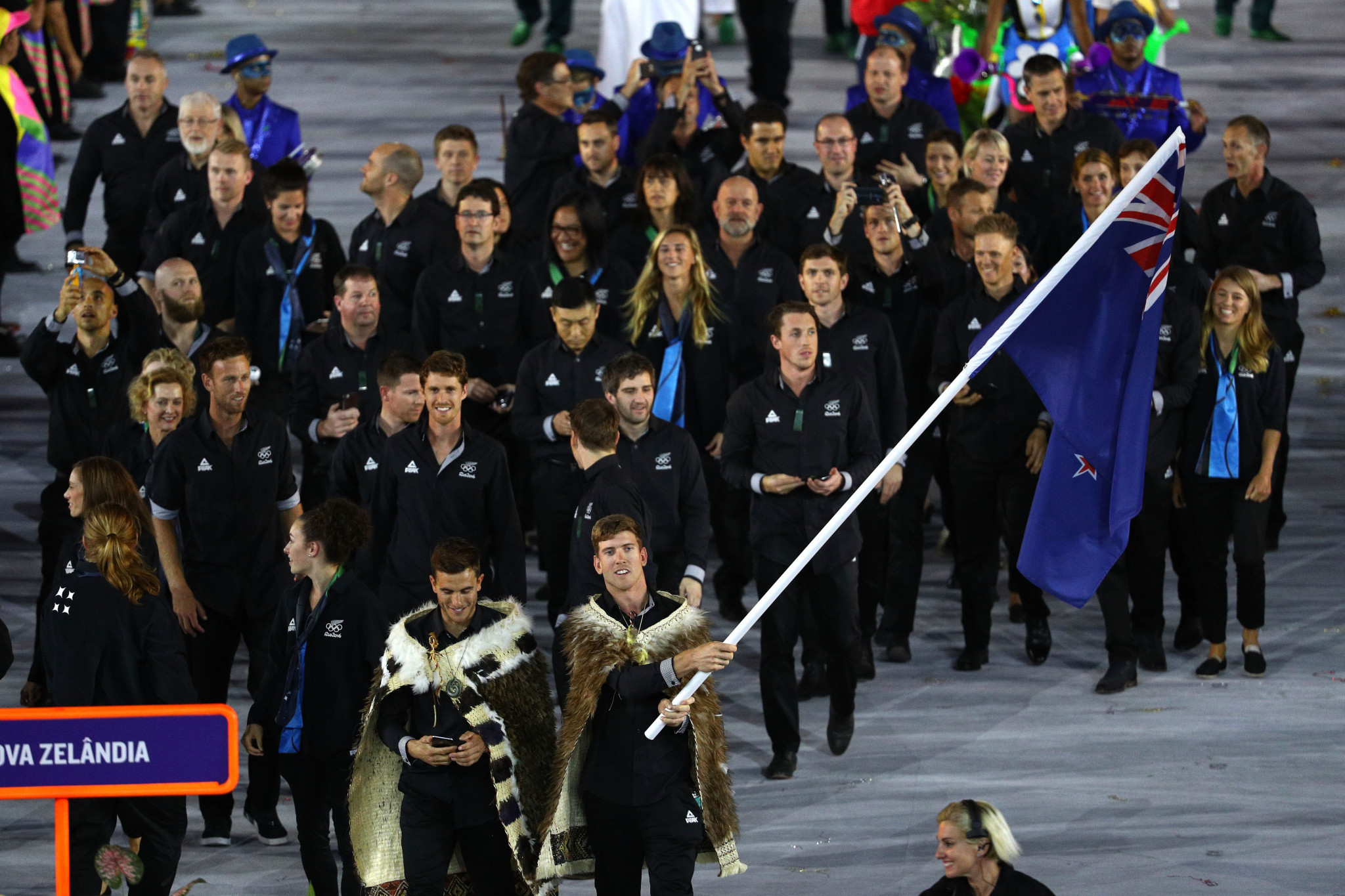 New Zealand sent a team of 199 athletes to the Rio 2016 Olympics, but is set to send between 200 and 220 to the rearranged Tokyo 2020 Games ©Getty Images