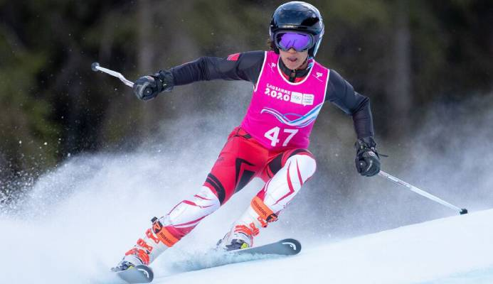 Abigail Vieira, Alpine Skiing – Super G Competition