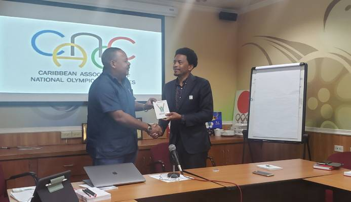 The first Executive meeting of the Caribbean Association of National Olympic Committees (CANOC)