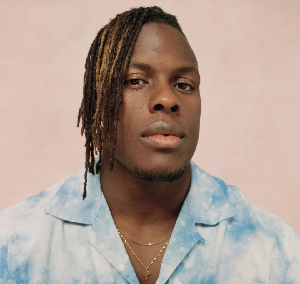 Maro Itoje: 'I just have to do what I think is right.' Nicholas Daley shirt, brownsfashion.com. Pendant, isura.co.uk. Chain, Itoje's own. Photograph: Silvana Trevale/The Guardian
