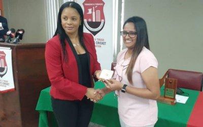 TT Women's Cricketers Association honours Windies' Mohammed