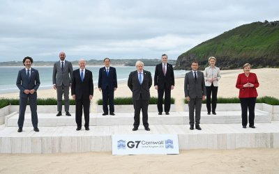 """G7 leaders reiterate support for """"safe and secure"""" Tokyo 2020 Olympics going ahead"""